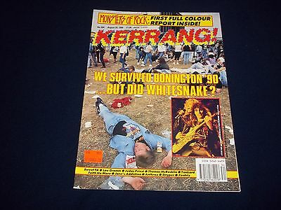 1990 August 25 Kerrang! Magazine - Monsters Of Rock - Music Issue - A 1692