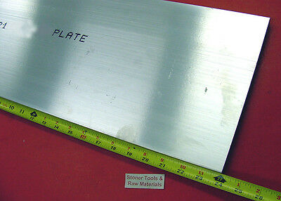 "2 Pieces 3/4"" X 9"" 6061 T6511 ALUMINUM SOLID FLAT BAR 24"" long Plate Mill Stock"