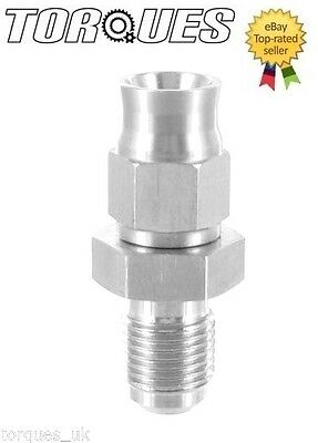 AN -3 (3AN JIC- 3) Hose to M10x1.0 Male Straight Stainless Steel Hose Fitting
