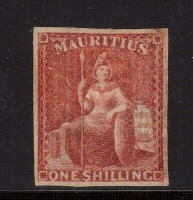 Mauritius #19 (SG #34) XF Mint **With Certificate**
