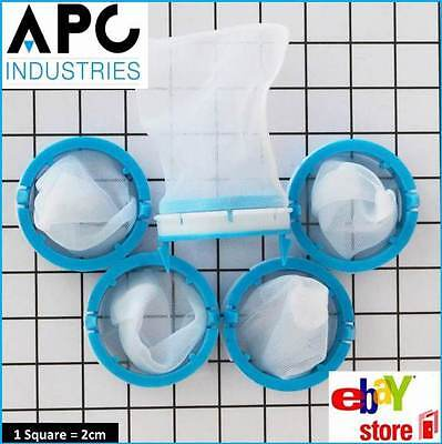 5 x GENUINE SIMPSON HOOVER WESTINGHOUSE WASHING MACHINE LINT FILTER 0564257398