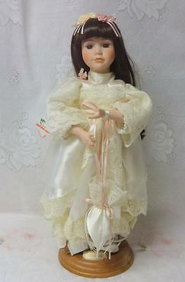 Vintage Telco Animated Motion-Ette Christmas Girl Doll Danielle Original Tag