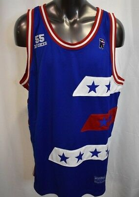 Stall & Dean Rucker Basketball #55 Jersey Respect Tradition NWT Mens 56 (3XL)