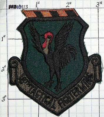 U.S.A.F. UNITED STATES AIR FORCE 18TH TACTICAL FIGHTERWING PATCH