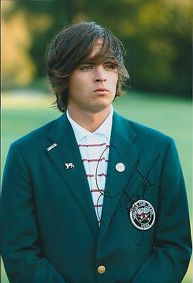 Rickie FOWLER SIGNED Autograph 12x8 Photo AFTAL COA 2009 Walker Cup Player