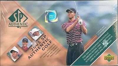 2003 Upper Deck Sp Authentic Golf Hobby Box Blowout Cards