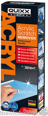 Xerapol Plastic Polish & Acrylic Perspex Screen Scratch Removal Restoring Kit