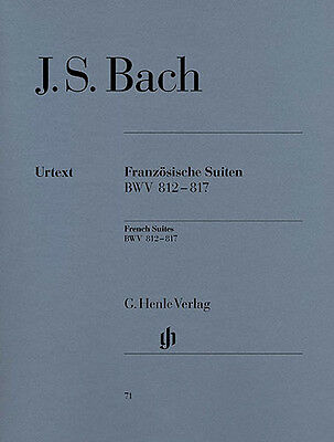 J.S. Bach: French Suites BWV 812-817 (Urtext Edition)