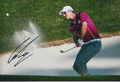 Nicolas COLSAERTS SIGNED Autograph 12x8 Photo AFTAL COA Ryder Cup GOLF WINNER