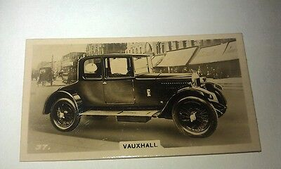 VAUXHALL 14/40   -  Wills New Zealand Real Photo Cigarette Card Issued 1926