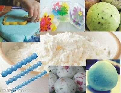 500gm SOAP DOUGH POWDER - Make Play Doh Soaps, Easy, Safe, Natural. Makes 900gms