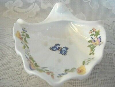 AYNSLEY COTTAGE GARDEN Fine Bone China Shell Shaped Soap Dish - Made in England