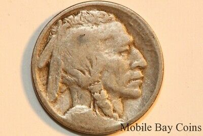 Good Type 1 1913 Denver Mint Buffalo Indian Head Nickel Five Cent (BNX680)