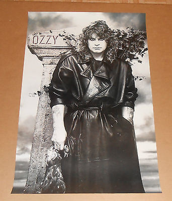 Ozzy Osbourne Dead Chicken No Rest for the Wicked 1988 Promo Poster RARE 23x36