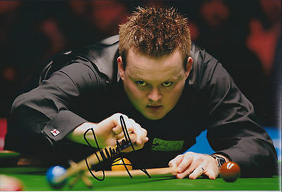 Shaun MURPHY SIGNED 12x8 Photo AFTAL COA UK Snooker Champion AUTOGRAPH
