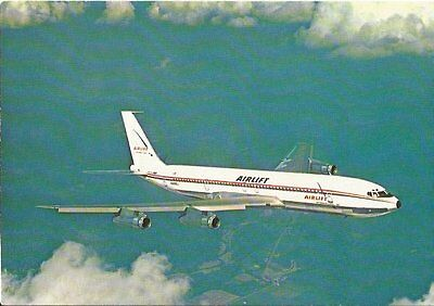 Cp Avion Boeing 707 335 C Intercontinental N525Ej