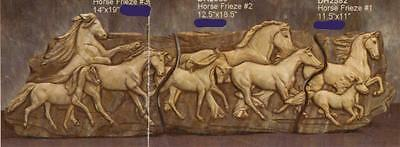 Doc Holliday Ceramic Horse Friezye Plaques Ready to Paint