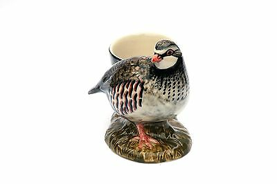 Partridge Egg Cup British Game Bird by Quail Pottery Ideal Shooting Gift