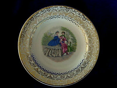 Beautiful Vintage SALEM 1800's Godey Victorian Print Plate - Made in U.S.A