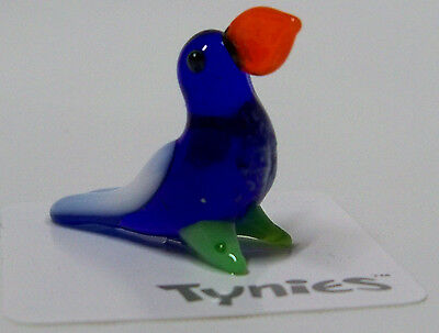 SAM Toucan Bird BLUE TYNIES Tiny Glass Figure Figurines Collectibles 0019 NEW