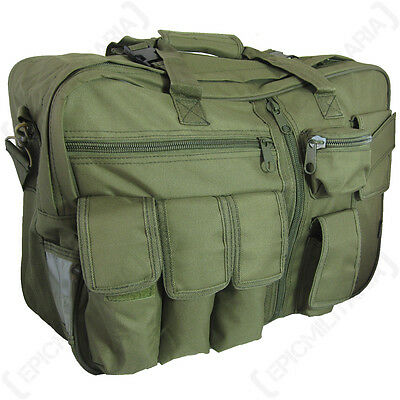Olive Green Tactical CARGO BAG - Military Style Rucksack Backpack Carry Case