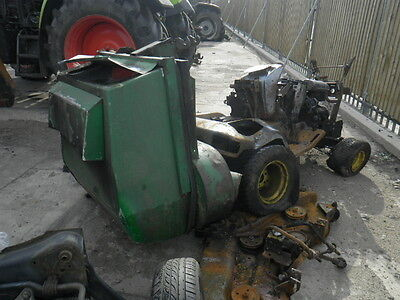 2004 john deere gx335 mower breaking for parts