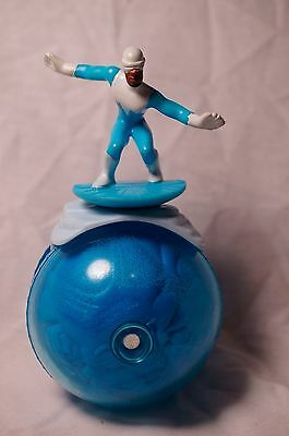 Disney The Incredibles the Ice Man FROZONE Rolling Toy Figure McDs