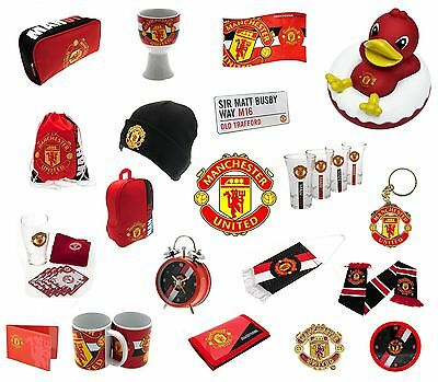 MANCHESTER UNITED - Official Football Club Merchandise (Gift, Xmas, Birthday)