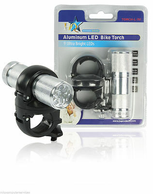 HQ Branded LED Aluminium Bike Light Torch