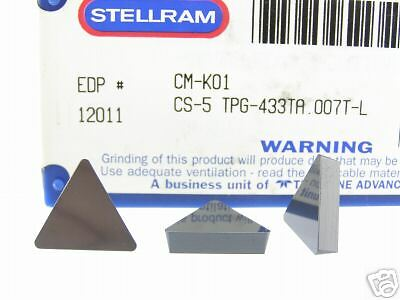 100 New Stellram Tpg 433T Cs5 Ceramic Inserts N257S