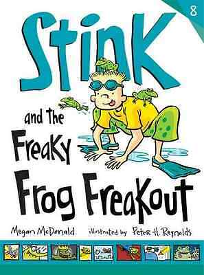 Stink and the Freaky Frog Freakout - Paperback NEW Megan McDonald 2013-06-06