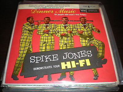 "SPIKE JONES dinner music EP EX+/EX 7"" ITA"