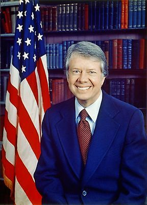 Us President Jimmy Carter 8X10 Glossy Photo Picture Image #2