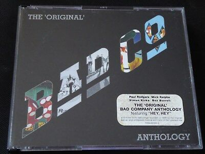 Bad Company - The Original Anthology CD 1999 FREE PAUL RODGERS FIRM KING CRIMSON