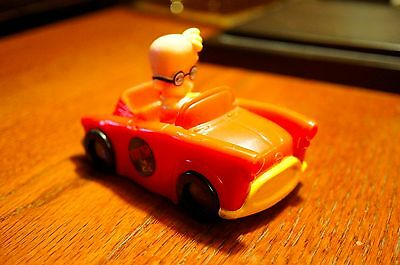 1997 BRUNO THE KID Figure In Red Car Vehicle Toy