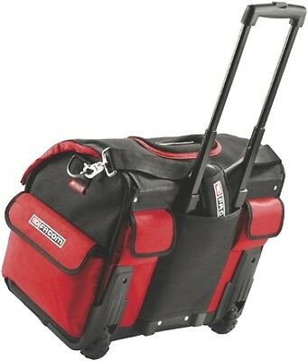 Facom Tool France New Release! Tote Bag Toolbox Material In Red On Wheels !