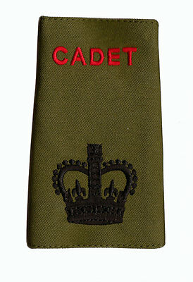 Official ACF / CCF Sergeant Major SSM RANK SLIDE for MTP ( Army Cadet Force WO2