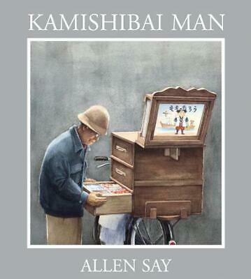 Kamishibai Man by Allen Say (English) Hardcover Book Free Shipping!