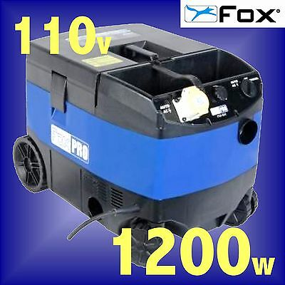 FOX F50-801 110v Wet or Dry Vacuum Cleaner / Dust Extractor extraction 3Yr Gtee