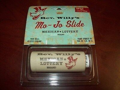 NEW - Reverend Willy's Mo-Jo Ceramic Guitar Slide, RWS12