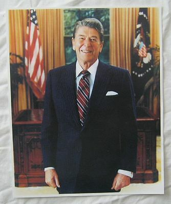 MARGARET THATCHER AND RONALD REAGAN  8X10 COLOR PHOTO