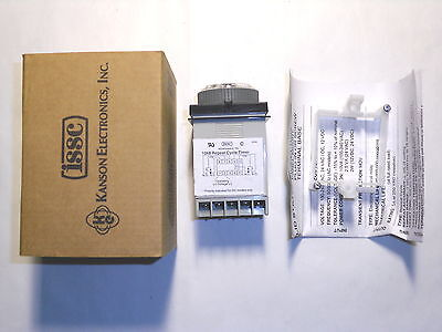 Issc 1068-1P9B-2-2 Industrial Solid State Timer Repeat Cycle 120-240Vac Nib