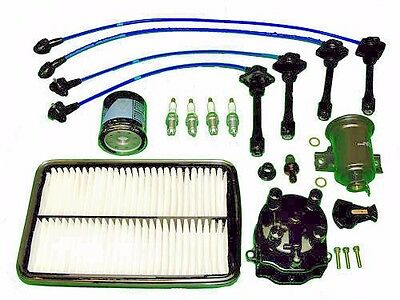 Tune Up Kit Toyota Corolla 1993 to 1997 1.6L 1.8L NGK wires,NGK Plugs, filters