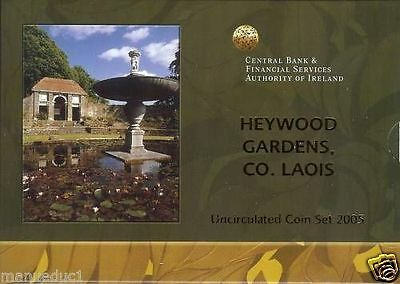 manueduc IRLANDA 2005 CARTERA BU OFICIAL HEYWOOD GARDENS CENTRAL BANK OF IRELAND