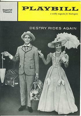 1959 Playbill DESTRY RIDES AGAIN Andy Griffith imperial