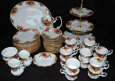 @@ Royal Albert Old Country Roses Bone China Geschirr Teile zur Auswahl @@