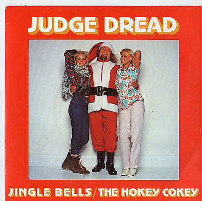 "Judge Dread - Jingle Bells / Hokey Cokey 7"" Single 1978"