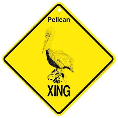 Pelican Crossing Xing Sign New made in USA