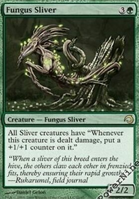 Green PDS Slivers Mtg Magic Common 1x x1 1 PreCon PLAYED FOIL Muscle Sliver