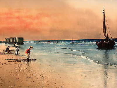 Print, Frame, Sell - ANTIQUE SEASIDE BEACH IMAGES IN COLOUR - Vol.2 DVD